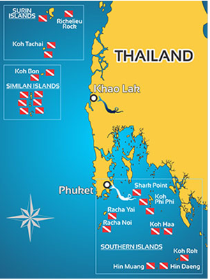 Diving Safari Thailand